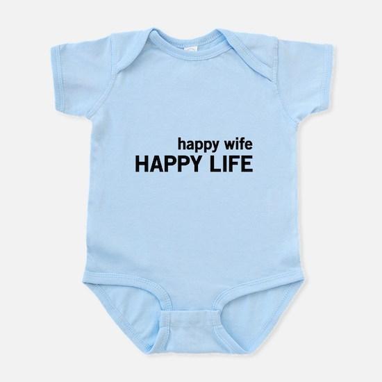 Happy Wife, Happy Life Body Suit