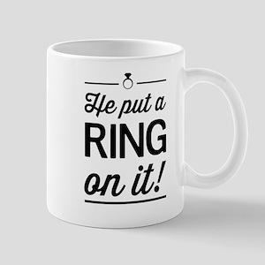 He Put a Ring on It Mugs