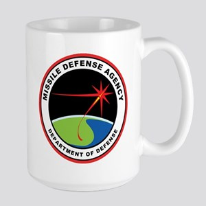 Missile Defense Agency Logo Large Mug Mugs