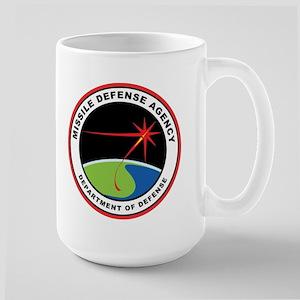 Missile Defense Agency Logo Large Mug Mugs