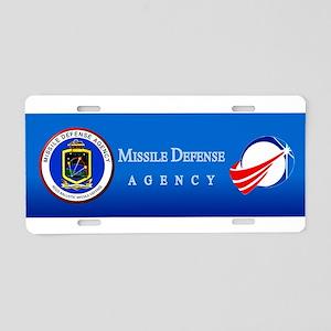 Aegis Program Logo Aluminum License Plate