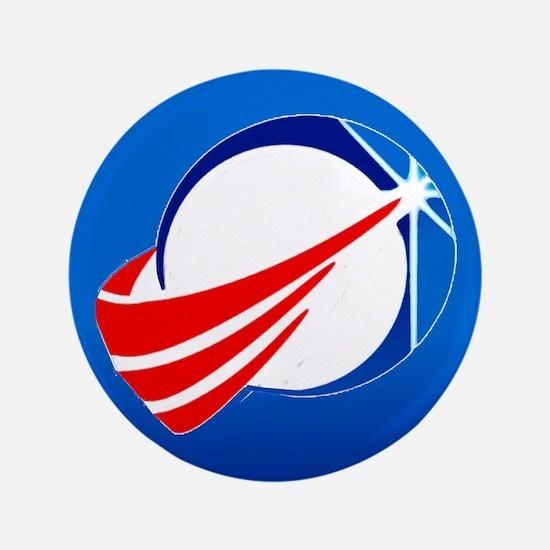 """Mda New Logo 3.5"""" Button"""