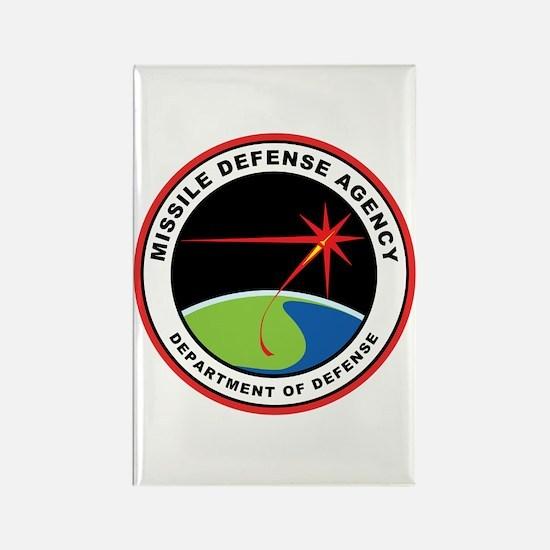 Missile Defense Agency Logo Rectangle Magnets