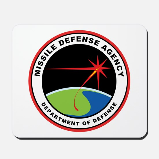 Missile Defense Agency Logo Mousepad