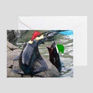Singing Sea Lions Greeting Cards
