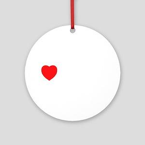 I Love Serbia Ornament (Round)