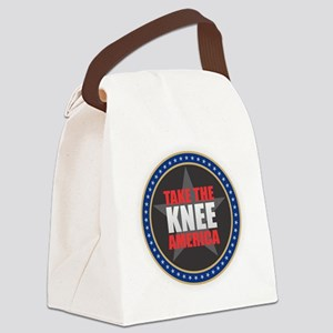 Take the Knee Canvas Lunch Bag