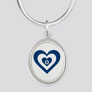 Heart Israel Necklaces