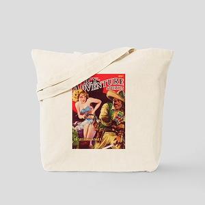 Spicy Adventure Nov. 1935 Tote Bag