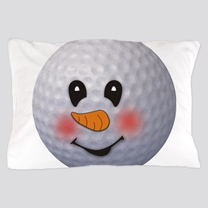 snowman Pillow Case