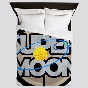 Super Moon Diagram Queen Duvet