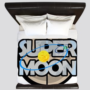 Super Moon Diagram King Duvet