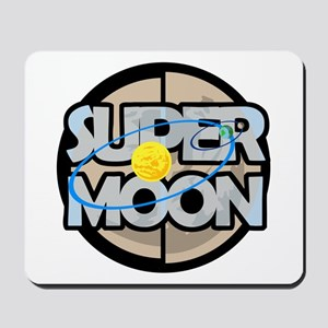 Super Moon Diagram Mousepad