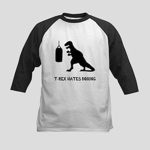 T Rex Hates Boxing Baseball Jersey