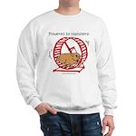 Powered by Hamsters 2 Sweatshirt