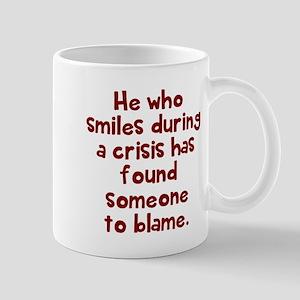 He who smiles Mugs