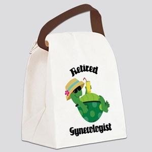 Retired gynecologist Canvas Lunch Bag