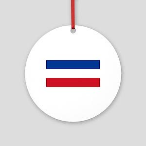Serbia Ornament (Round)