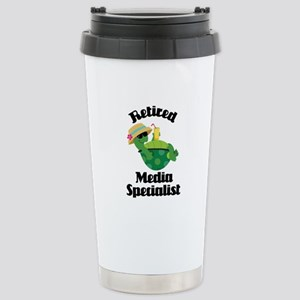 Retired media specialis Stainless Steel Travel Mug
