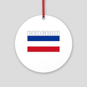 Beograd, Serbia & Montenegro Ornament (Round)