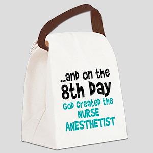 Nurse Anesthetist Creation Canvas Lunch Bag