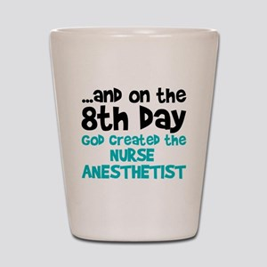 Nurse Anesthetist Creation Shot Glass