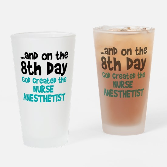 Nurse Anesthetist Creation Drinking Glass