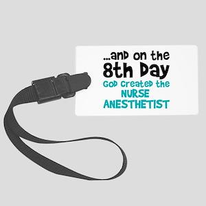 Nurse Anesthetist Creation Large Luggage Tag
