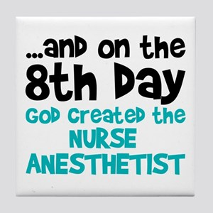 Nurse Anesthetist Creation Tile Coaster