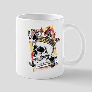 King of Spades Skull Mugs