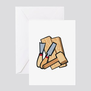 WoodworkingTools Greeting Cards
