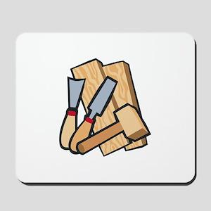 WoodworkingTools Mousepad
