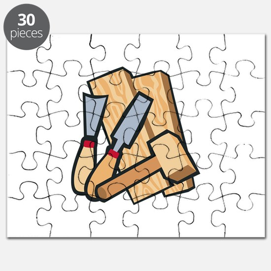 WoodworkingTools Puzzle
