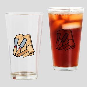 WoodworkingTools Drinking Glass