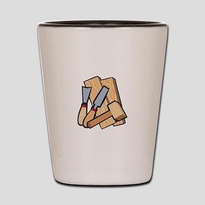 WoodworkingTools Shot Glass
