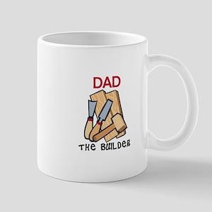 Dad the Builder Mugs