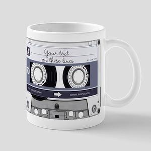Cassette Tape - Grey Mug