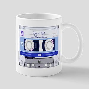 Cassette Tape - Blue Mug