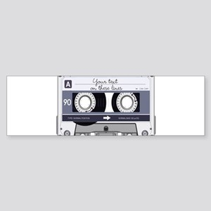Cassette Tape - Grey Sticker (Bumper)