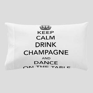 Keep Calm Drink Pillow Case