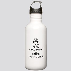 Keep Calm Drink Water Bottle