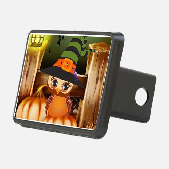 Cute Halloween Owl Hitch Cover