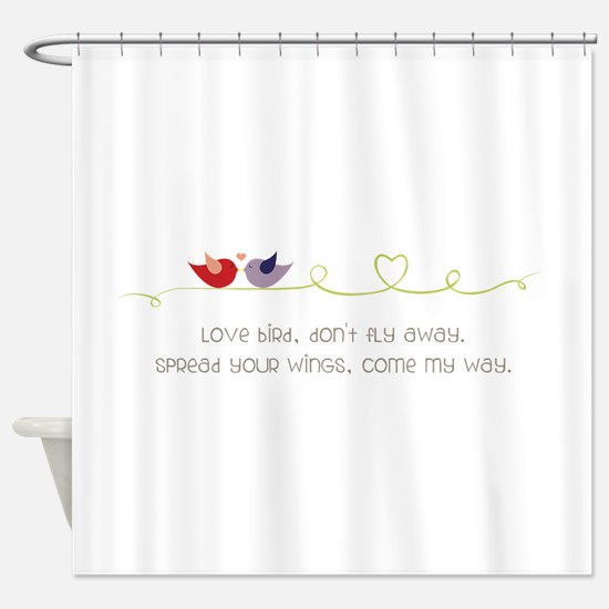 Come My Way Shower Curtain