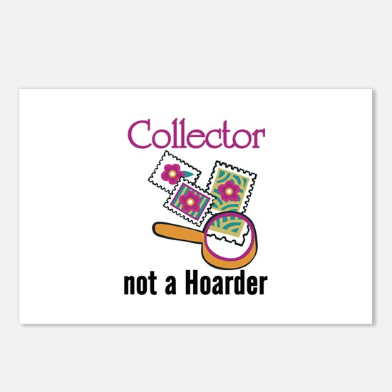 Collector Not Horder Postcards (Package of 8)