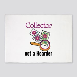 Collector Not Horder 5'x7'Area Rug