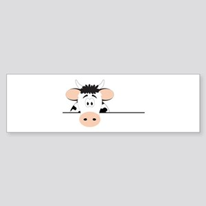 Cow Bumper Sticker