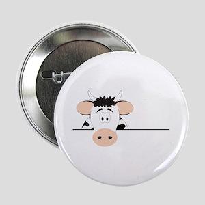 """Cow 2.25"""" Button"""