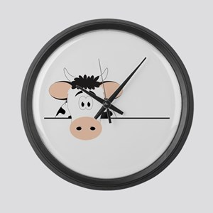 Cow Large Wall Clock