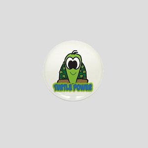 Turtle Power Mini Button