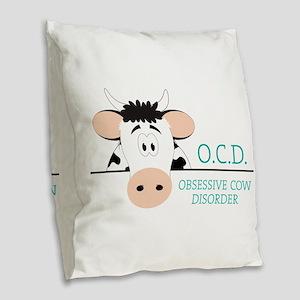 O.C.D. Burlap Throw Pillow